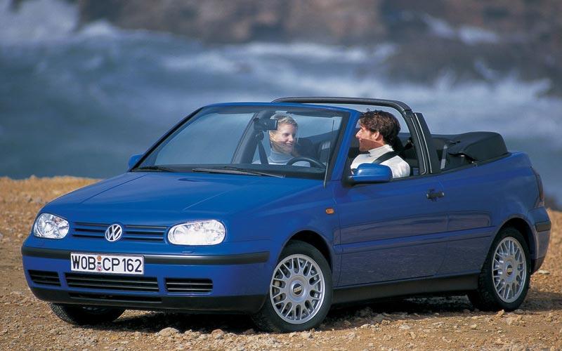 Фото Volkswagen Golf Cabrio  (1998-2002)
