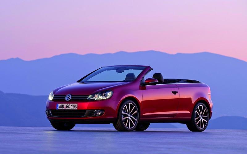 Фото Volkswagen Golf Cabrio