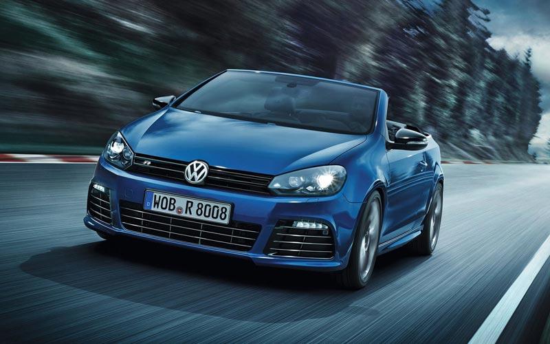 Фото Volkswagen Golf R Cabrio