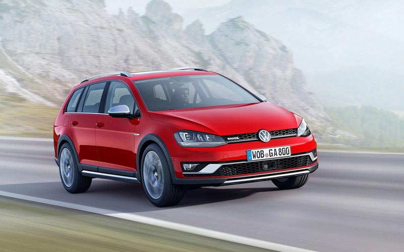 Фото Volkswagen Golf Alltrack  (2014-2016)