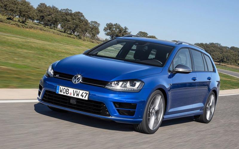 Фото Volkswagen Golf R Variant  (2014-2016)