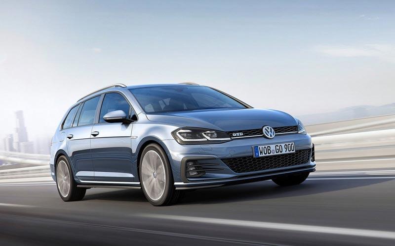 Фото Volkswagen Golf GTD Variant