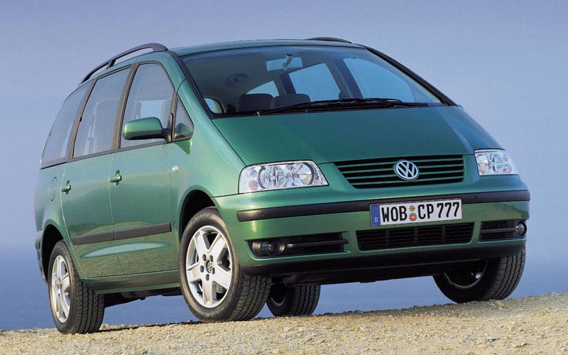 Фото Volkswagen Sharan  (2000-2010)