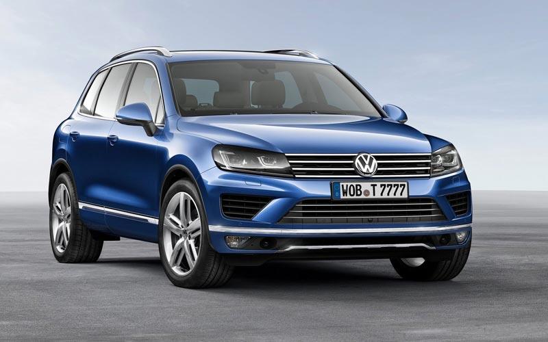 Фото Volkswagen Touareg  (2014-2018)