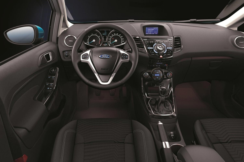 Форд фиеста интерьер