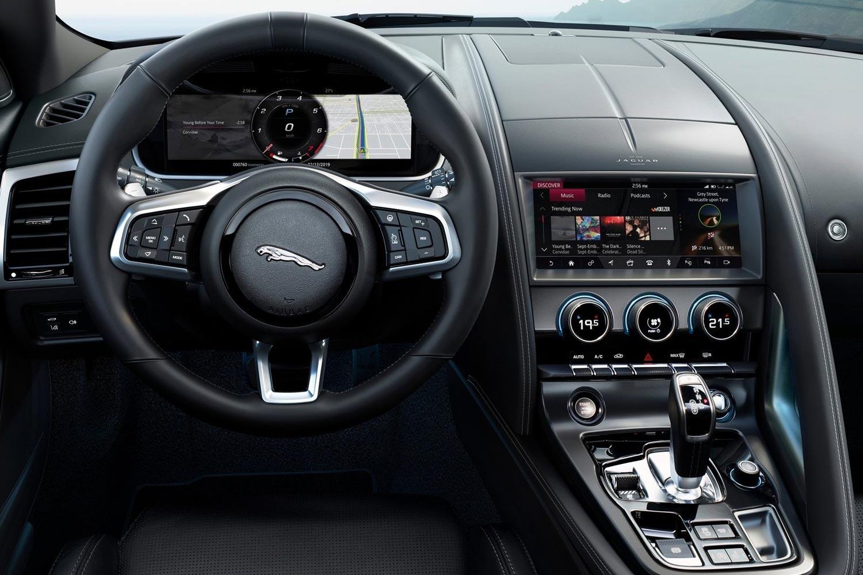 """Картинки по запросу """"Jaguar F-Type 2020 салон"""""""