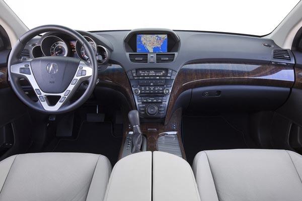 Интерьер салона Acura MDX