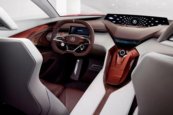 Интерьер салона Acura Precision Concept