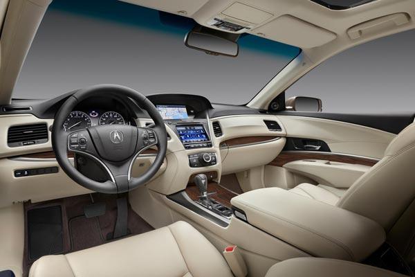 Интерьер салона Acura RLX