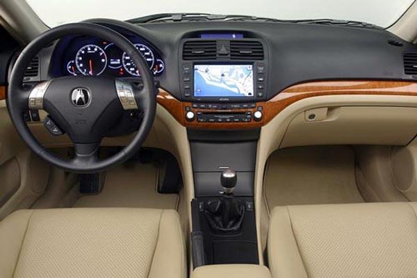 Интерьер салона Acura TSX