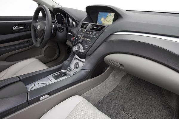 Интерьер салона Acura ZDX