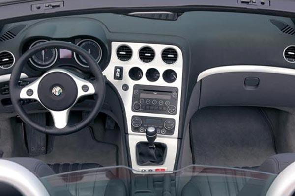 Интерьер салона Alfa Romeo Spider