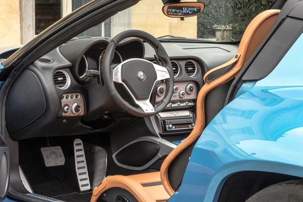 Интерьер салона Alfa Romeo Disco Volante Spyder