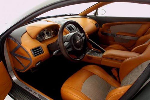 Интерьер салона Aston Martin AMV8 Vantage Concept