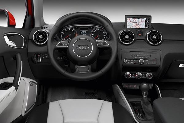 Интерьер салона Audi A1