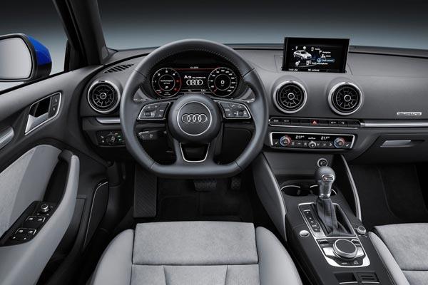 Интерьер салона Audi A3 Sedan