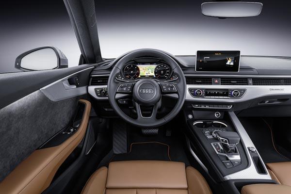 Интерьер салона Audi A5