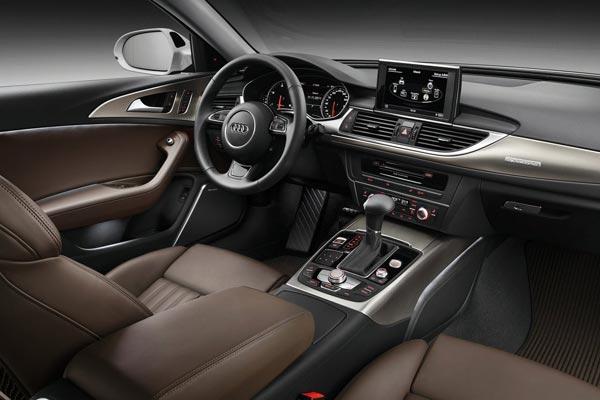 Интерьер салона Audi A6 allroad