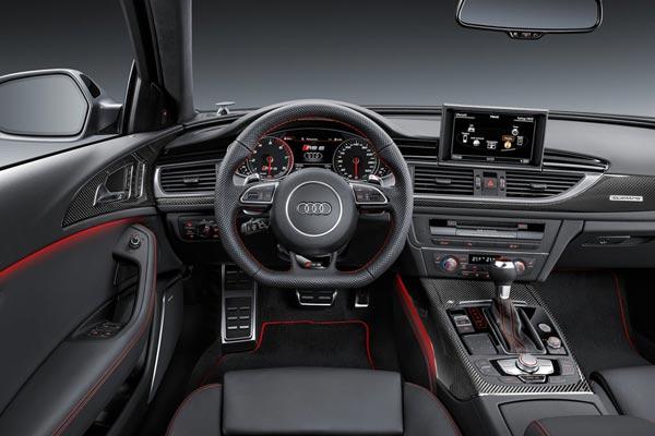 Интерьер салона Audi RS6 Avant perfomance