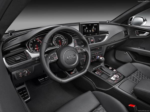 Интерьер салона Audi RS7