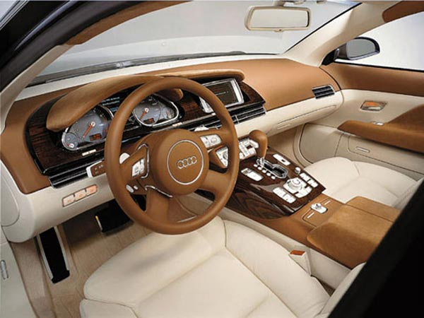 Интерьер салона Audi Avantissimo