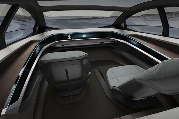 Интерьер салона Audi Aicon