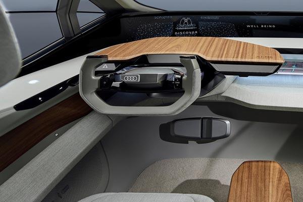 Интерьер салона Audi AI:Me