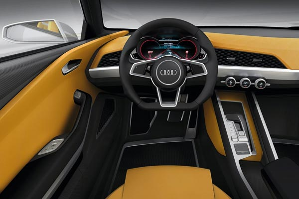 Интерьер салона Audi Crosslane Coupe Concept
