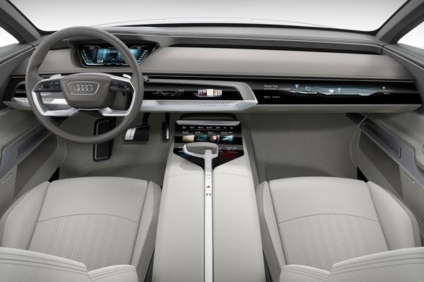 Интерьер салона Audi Prologue Concept