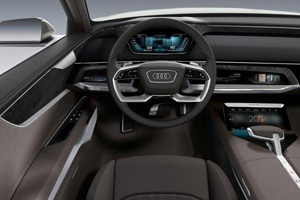 Интерьер салона Audi Prologue Allroad