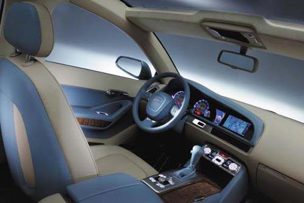 Интерьер салона Audi Pikes Peak