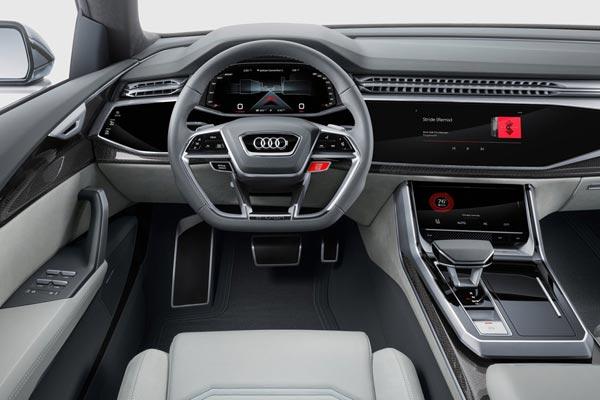 Интерьер салона Audi Q8 Concept
