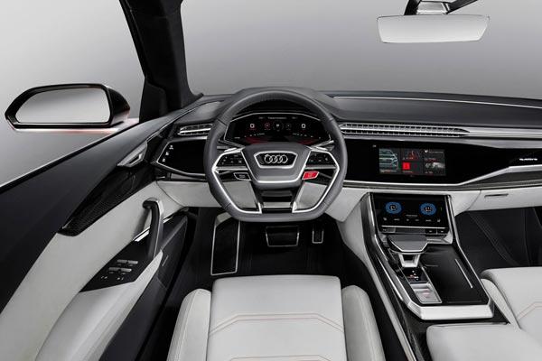 Интерьер салона Audi Q8 Sport Concept