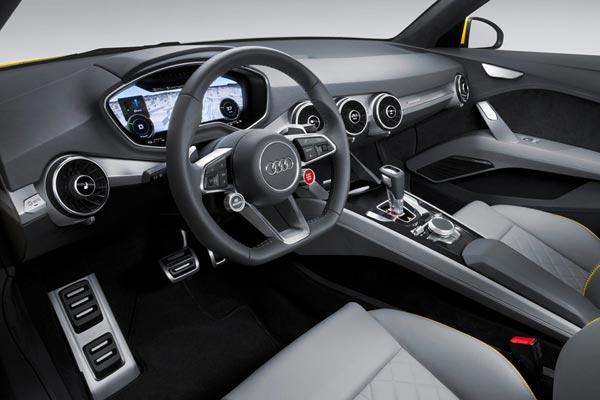 Интерьер салона Audi TT Offroad Concept