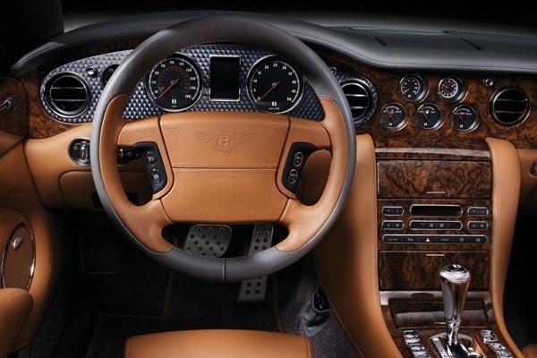 Интерьер салона Bentley Azure T