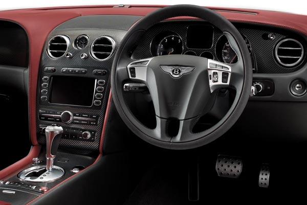 Интерьер салона Bentley Continental Supersports