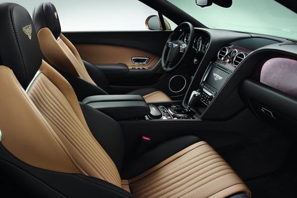 Интерьер салона Bentley Continental GTC