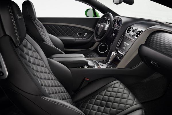 Интерьер салона Bentley Continental GT Speed