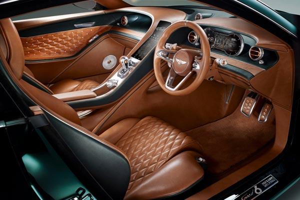 Интерьер салона Bentley EXP 10 Speed 6