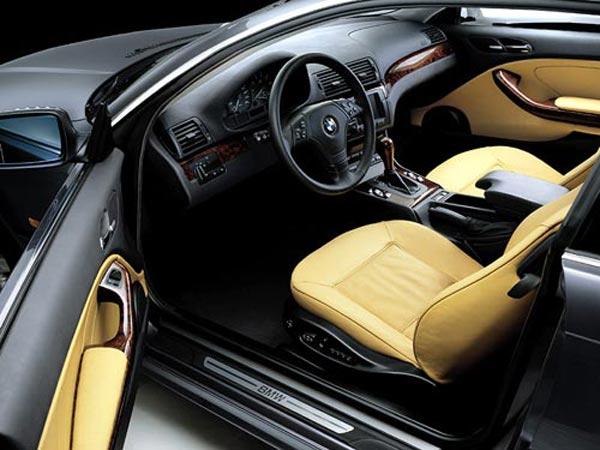 Интерьер салона BMW 3-series Coupe