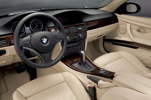 Интерьер салона BMW 3-series Coupe (2006-2009). Фото салона BMW 3 ...
