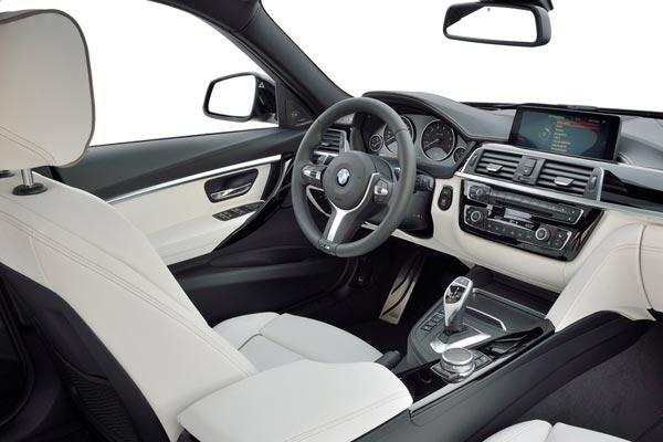 Интерьер салона BMW 3-series