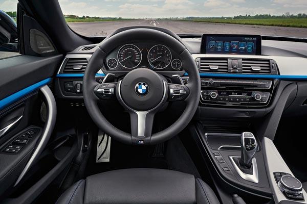 Интерьер салона BMW 3-series Gran Turismo