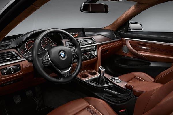 Интерьер салона BMW 4-series Concept