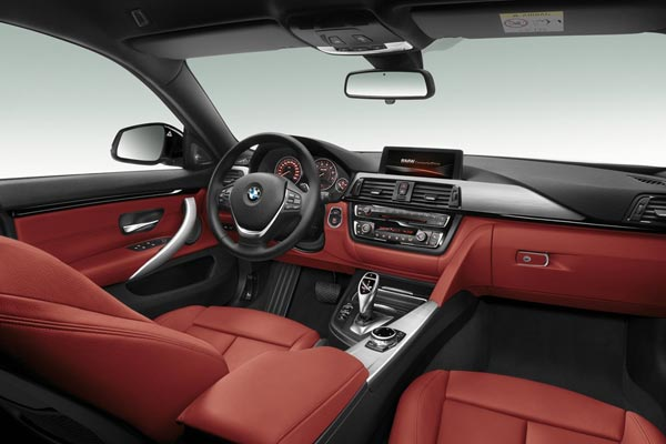 Интерьер салона BMW 4-series Gran Coupe