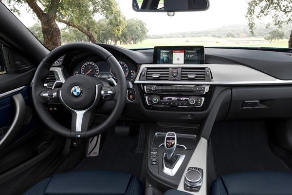 Интерьер салона BMW 4-series