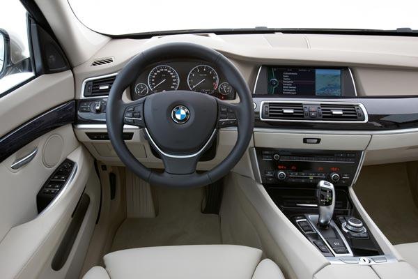 Интерьер салона BMW 5-series Gran Turismo