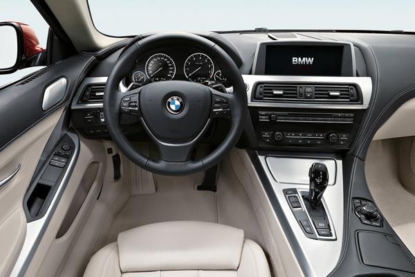 Интерьер салона BMW 6-series