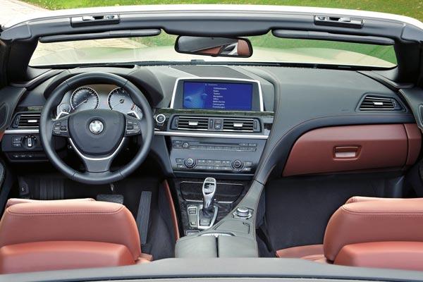 Интерьер салона BMW 6-series Convertible