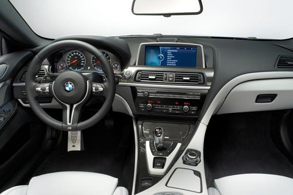 Интерьер салона BMW M6